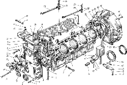 ЯМЗ 238 НД Блок цилиндров