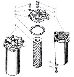 ЯМЗ 238 Б Фильтр грубой очистки топлива