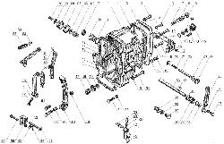 ЯМЗ 238 Б Корпус регулятора частоты вращения