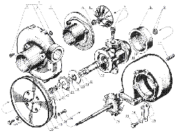 Турбокомпрессор ЯМЗ 238 Б