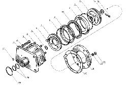 ЯМЗ 238 Б Цилиндр механизма переключения понижающей передачи