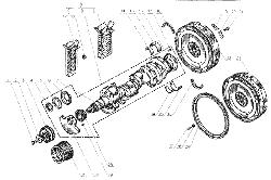 Коленчатый вал ЯМЗ 238 Б