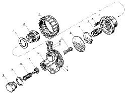 ЯМЗ 238 Б Редукционный клапан коробки передач