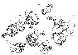 ЯМЗ 238 Б Генератор Г273В1