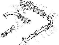 ЯМЗ 238 Б Газопровод