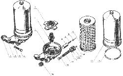 ЯМЗ 238 Д Фильтр грубой очистки масла