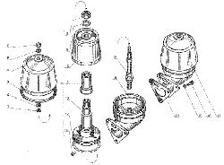 Фильтр центробежной очистки масла ЯМЗ 238 Д