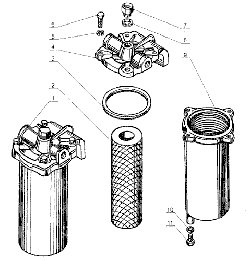 ЯМЗ 238 Д Фильтр грубой очистки топлива
