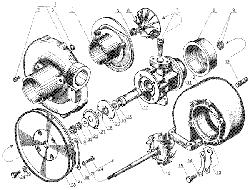 Турбокомпрессор ЯМЗ 238 Д