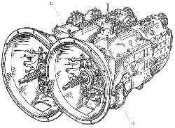 ЯМЗ 238 Д Коробка передач