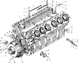 ЯМЗ 240 М2 Блок цилиндров