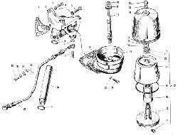 Фильтр центробежной очистки масла ЯМЗ 240 М2