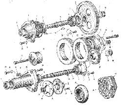 ЯМЗ 240 М2 Приводагрегатов