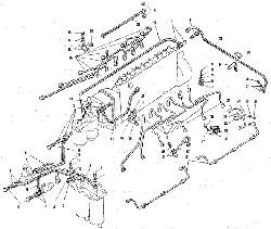 ЯМЗ 240 М2 Топливные трубопроводы