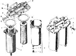 ЯМЗ 240 М2 Фильтр грубой очистки топлива