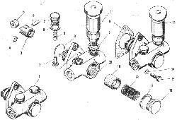 Топливоподкачивающий насос ЯМЗ 240 М2