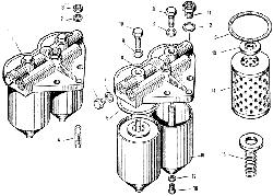 Фильтр тонкой очистки топлива ЯМЗ 240 М2