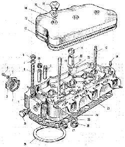 Головка цилиндров ЯМЗ 240 М2