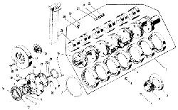 Коленчатый вал ЯМЗ 240 М2