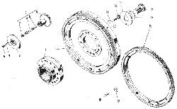 ЯМЗ 240 М2 Маховик и механизм поворота